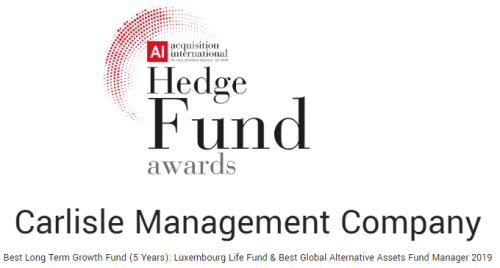 Hedge Fund Awards – November 2018